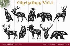 Vol.1 Christmas Bundle SVG Bundle Cut Files Product Image 3