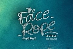 Face Rope Typeface Product Image 1