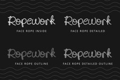 Face Rope Typeface Product Image 5