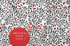 Valentines Day Seamless Pattern Set. Product Image 6