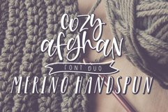 Cozy Afghan Font Duo Product Image 1