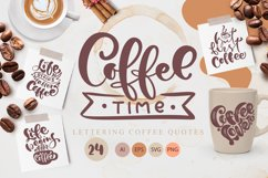 Coffee time SVG Product Image 1