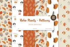 Boho Plants and Shapes Collection, Seamless Pattern, Clipart Product Image 3