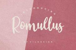 Romullus // Playful Script Font Product Image 1
