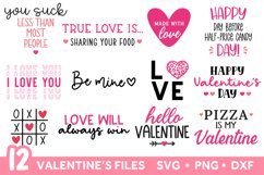 Valentines SVG Bundle, Valentines Day SVG Bundle Product Image 1