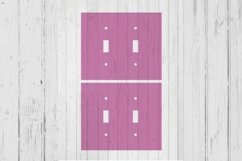 Light switch double template svg dxf png ai files Product Image 1