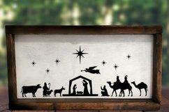 Nativity Scene SVG | Nativity SVG | Christmas SVG Product Image 2