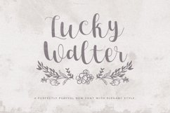 Lucky Walter - Elegant Style Font! Product Image 1