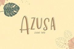 Azusa Sans Font Trio Product Image 1