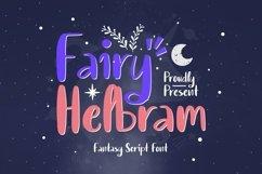 Web Font Fairy Helbram Font Product Image 1