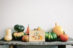 Pumpkin Watercolor Clipart Product Image 2