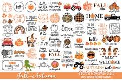 Fall svg bundle, pumpkin SVG, fall svg Product Image 1
