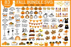 ULTIMATE Christmas and Fall, Autumn, thanksgiving bundle SVG Product Image 4