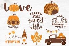 Fall SVG Bundle, Autumn bundle, gnome, pumpkin, fall quotes Product Image 2