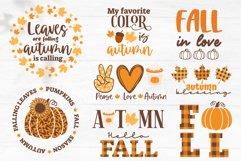 Fall SVG Bundle, Autumn bundle, gnome, pumpkin, fall quotes Product Image 6