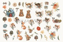 Fall Fairies Clipart Product Image 2