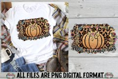 Fall Truck Pumpkin Sublimation Design Product Image 1