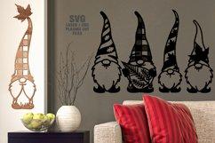 Fall Leaf Garden Gnome SVG Glowforge Laser Cut Files Bundle Product Image 3