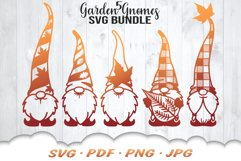 Fall Garden Gnome SVG Bundle Product Image 1