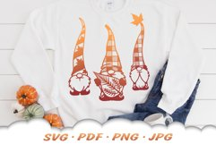Fall Garden Gnome SVG Bundle Product Image 3