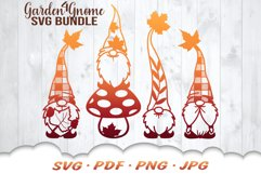 Fall Garden Gnomes SVG Bundle Product Image 1