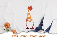 Fall Garden Gnomes SVG Bundle Product Image 3