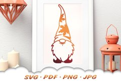 Fall Garden Gnomes SVG Bundle Product Image 5