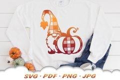 Fall Pumpkin Garden Gnomes SVG Bundle Product Image 3