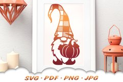 Fall Pumpkin Garden Gnomes SVG Bundle Product Image 5