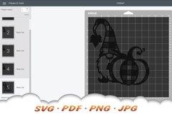 Fall Pumpkin Garden Gnomes SVG Bundle Product Image 2