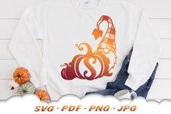 Fall Monogram Garden Gnomes SVG Bundle Product Image 3