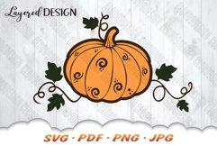 Fall Pumpkin SVG Files For Cricut Product Image 3