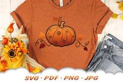 Fall Pumpkin SVG Files For Cricut Product Image 6