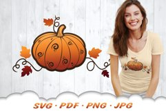 Fall Pumpkin SVG Files For Cricut Product Image 5