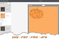 Fall Pumpkin SVG Files For Cricut Product Image 2