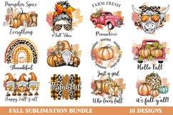 Fall Sublimation Bundle, Autumn Sublimation Bundle, Fall PNG Product Image 1