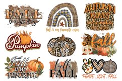 Fall Sublimation Bundle - Fall PNG Sublimation Product Image 2