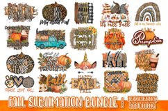 Fall Sublimation Bundle - Fall PNG Sublimation Product Image 1
