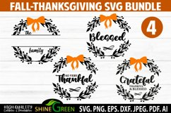 Fall Bundle - Thanksgiving SVG Bundle - Family Monogram SVG Product Image 2