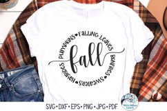 Round Fall SVG Bundle | Thanksgiving, Halloween, Autumn Product Image 3