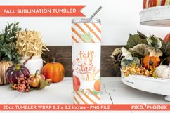 Fall is in the air Sublimation Wrap for skinny tumbler