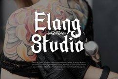 Web Font Falling Tattoe - Tattoo Font Product Image 5