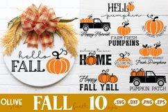 Fall Sign Making SVG Bundle   Fall SVG Product Image 1