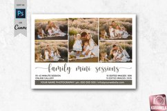 Family Mini Sessions Marketing Template for Photographers Product Image 1