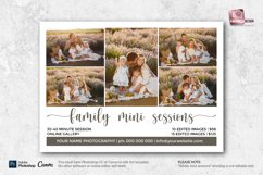 Family Mini Sessions Marketing Template for Photographers Product Image 2