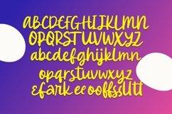 Web Font Fangirly - Handrawn Script Font Product Image 5