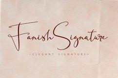 Fanish Elegant Signature Font Product Image 1