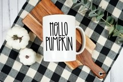 Web Font Farmhouse Pantry - A Quirky Handlettered Font Product Image 4