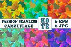 6 Seamless Fashion Camouflage Product Image 1