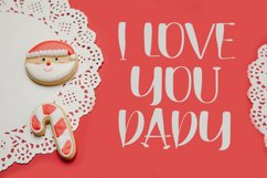 Fathers Days - Love Handwritten Font Product Image 2